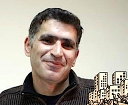 Syrian cartoonist Akram Raslan,  missing since October 2012
