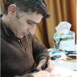 Syrian cartoonist Akram Raslan (disappeared)