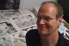 Rob Rogers, 2012 Thomas Nast Award winner