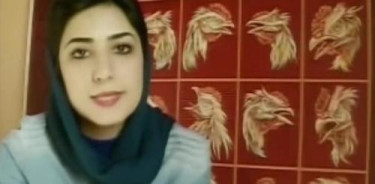 Artist Atena Farghadani, from a Youtube posting