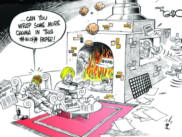 Cartoon by Gado, used with permission