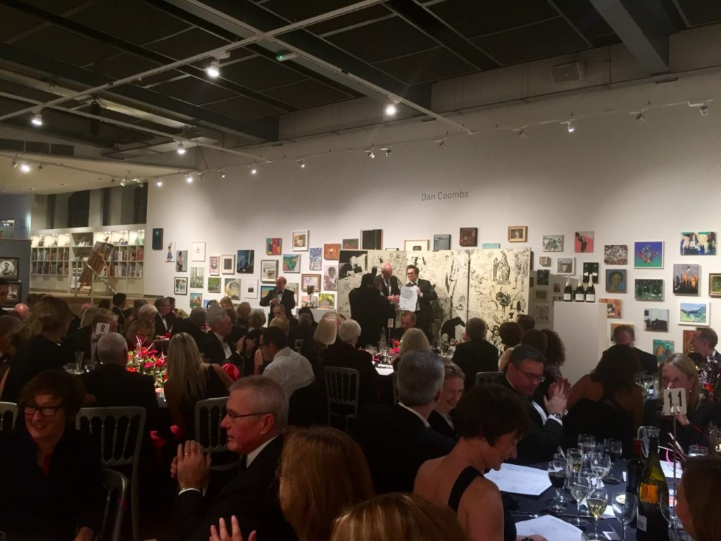 British Cartoonists' Association Awards Dinner 2016