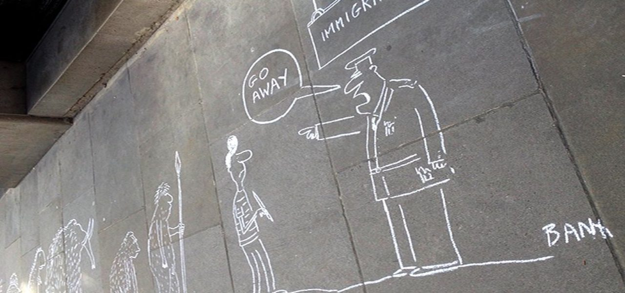 Australian High Commission sees cartoon protest for Eaten Fish