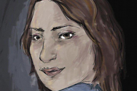 Majda Shaheen (self-portrait)