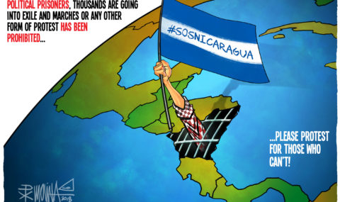 UPDATED: Time to answer #SOSNICARAGUA